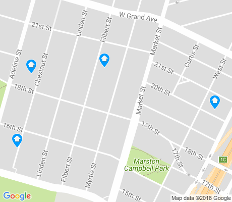 map of Ralph Bunche apartments for rent