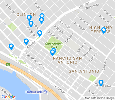 map of Rancho San Antonio apartments for rent