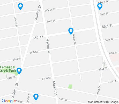 map of Santa Fe apartments for rent