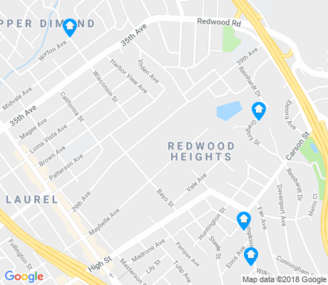 map of Upper Laurel apartments for rent