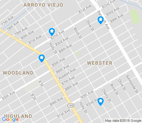map of Webster apartments for rent