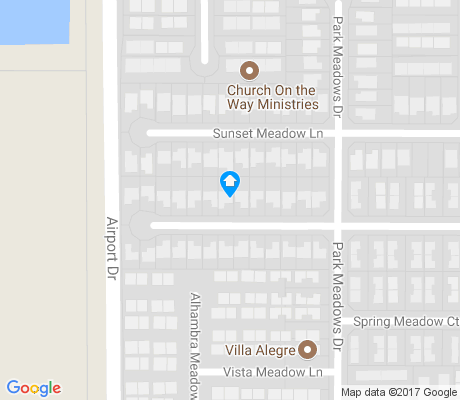 map of Meadow View apartments for rent