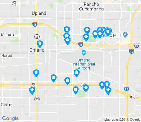 map of Ontario apartments for rent