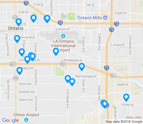 map of 91761 apartments for rent