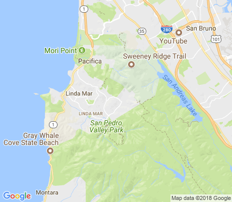map of Park Pacifica apartments for rent
