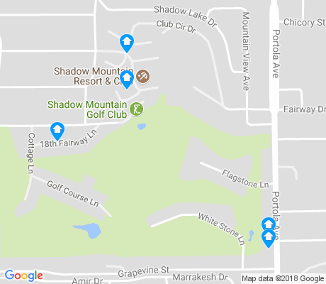 map of Shadow Mountain Golf Estates apartments for rent