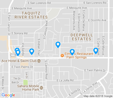 map of Taquitz Canyon River Estates apartments for rent