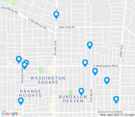 map of 91104 apartments for rent