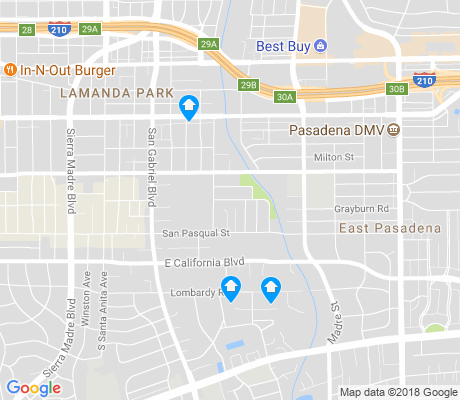map of Eaton Blanche Park apartments for rent