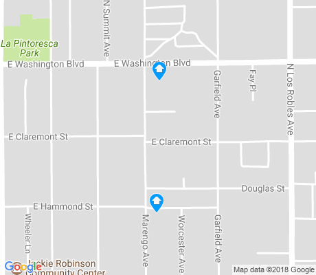 map of Garfield Heights apartments for rent