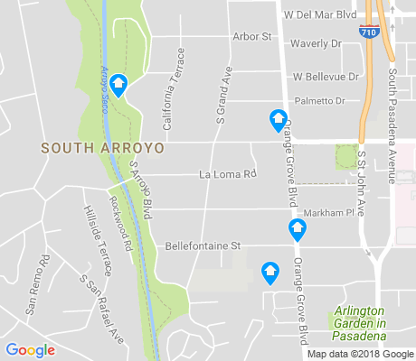 map of Lower Arroyo apartments for rent