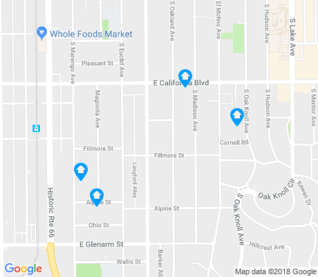 map of Madison Heights apartments for rent