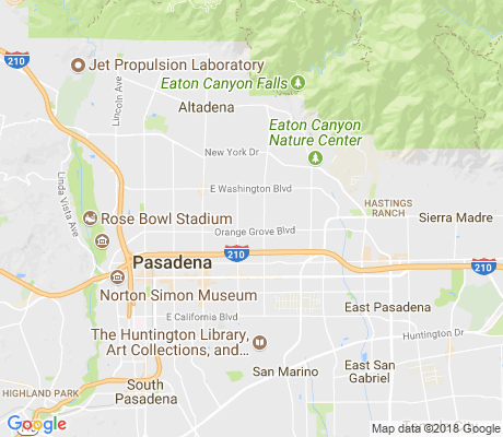 map of North Pasadena Heights apartments for rent
