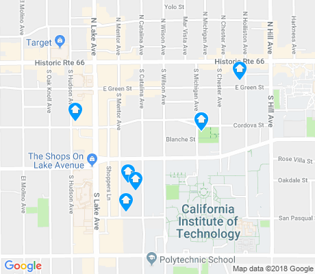 map of South Lake apartments for rent