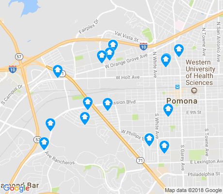 map of 91768 apartments for rent