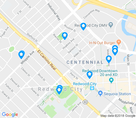 map of Centennial apartments for rent