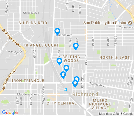 map of Belding Woods apartments for rent