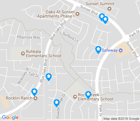 map of Sunset West apartments for rent