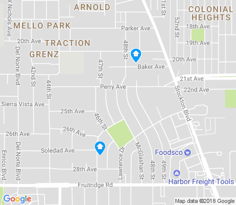 map of Lawrence Park apartments for rent