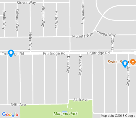 map of Mangan Park apartments for rent