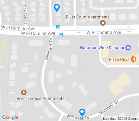map of Natomas Corporate Center apartments for rent