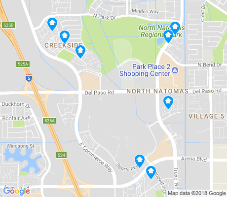 map of RP Sports Compex apartments for rent