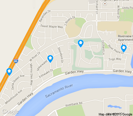 map of Willowcreek apartments for rent