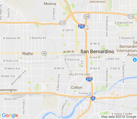 map of Amtrak apartments for rent