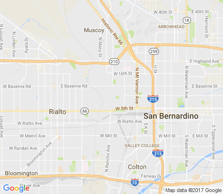 map of Carvedale apartments for rent