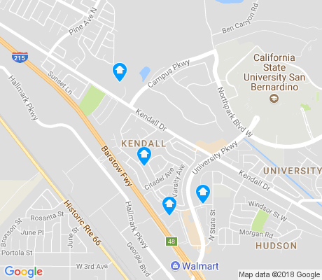 map of Kendall Hills apartments for rent