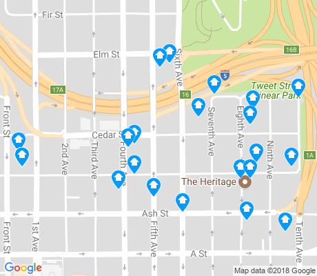 map of Cortez apartments for rent