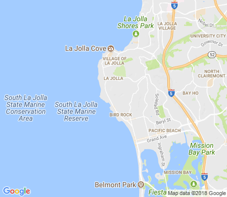 map of Upper Hermosa apartments for rent
