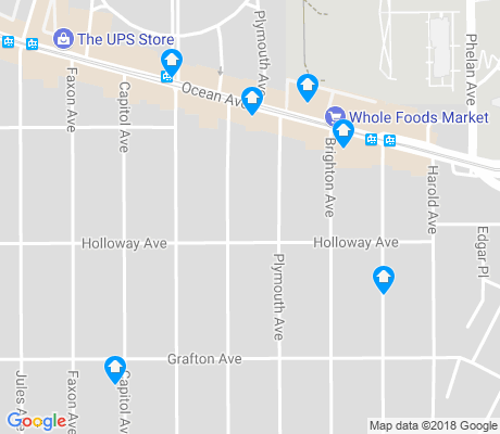 map of Ingleside apartments for rent