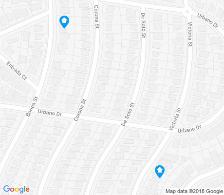 map of Ingleside Terraces apartments for rent