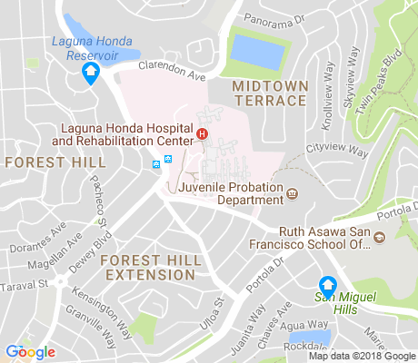 map of Laguna Honda apartments for rent