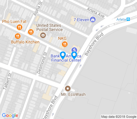 map of Little Hollywood apartments for rent