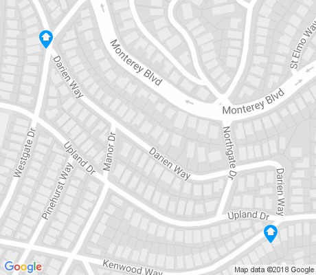 map of Mt. Davidson Manor apartments for rent