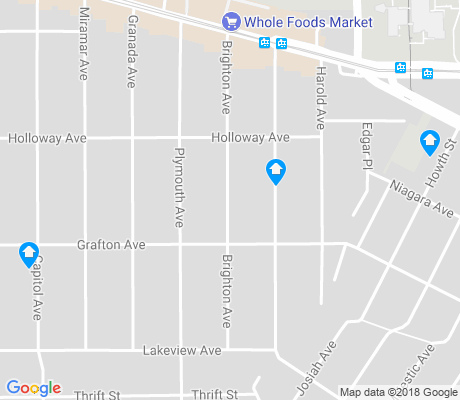map of Oceanview apartments for rent
