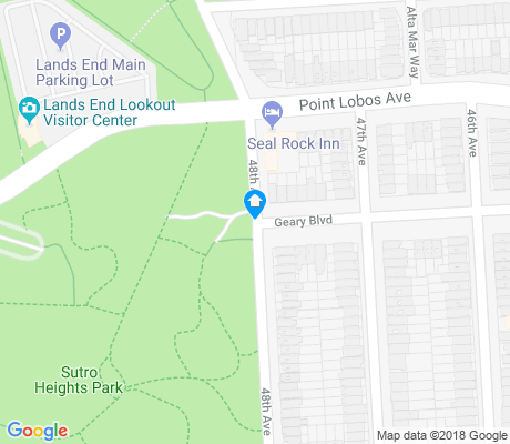 map of Sutro Heights apartments for rent
