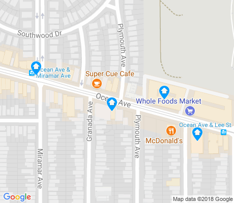 map of Westwood Park apartments for rent