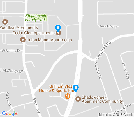 map of Bonnett apartments for rent