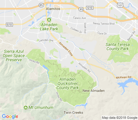 map of Glen Crest apartments for rent
