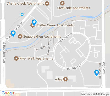 map of Greylands apartments for rent