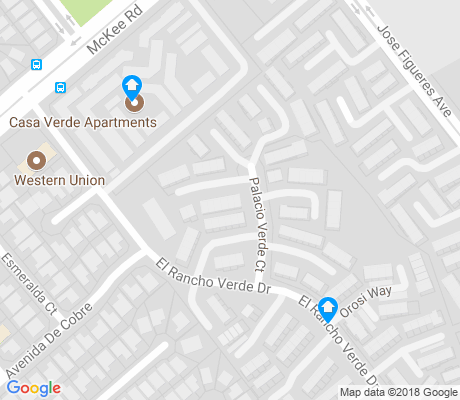 map of Jose Figueres-Rancho Verde apartments for rent