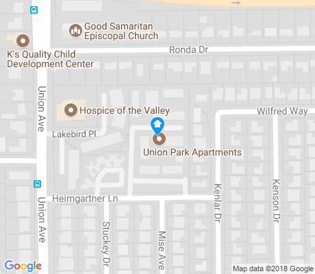 map of Little Branham-Rosswood apartments for rent