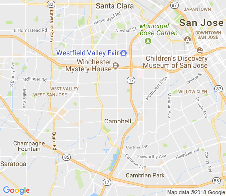 map of Loma Verde apartments for rent