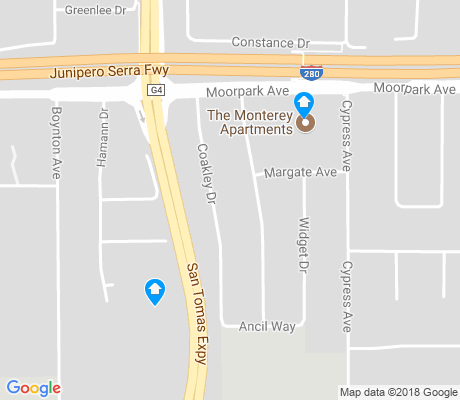 map of Lynhaven apartments for rent