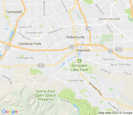 map of Pepper Tree apartments for rent