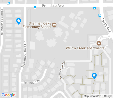 map of Sherman Oaks apartments for rent