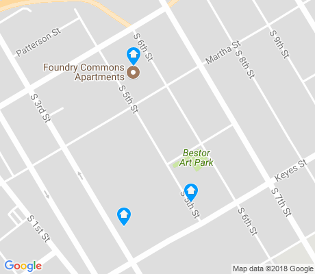 map of Spratan-Keyes apartments for rent